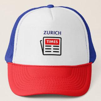 Zurich Times Trucker Baseball Cap Hat