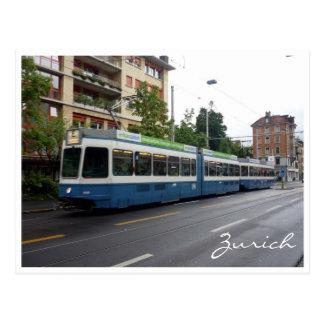 zurich tram postcards