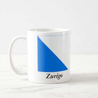 Zurigo, Svizzera Bandiera Flags Classic White Coffee Mug