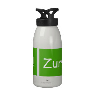 Zurkerlicious Reusable Water Bottles