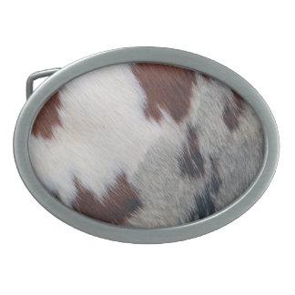 Zurriago Hebilla Cinturón Oval