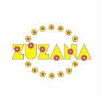 Zuzana en el amarillo de Flores Escultura Fotografica