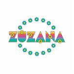 Zuzana en el arco iris de Flores Escultura Fotográfica