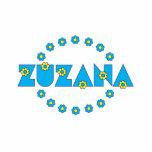Zuzana en el azul de Flores Esculturas Fotograficas