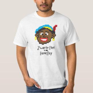 Zwarte Piet es HomeBoy del mijn Playera