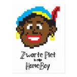 Zwarte Piet es homeboy del mijn Postal