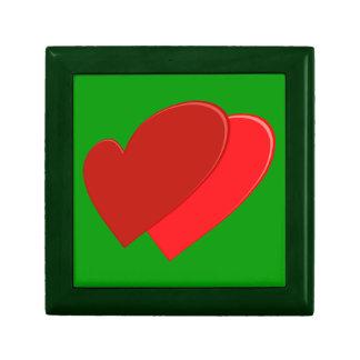 zwei Herzen two hearts Schmuckschachteln