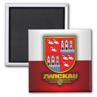 Zwickau 2 Inch Square Magnet