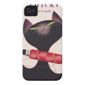 Zwicky Cat Poster by Donald Brun iPhone 4 Cover