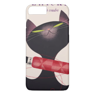 Zwicky Cat Poster by Donald Brun iPhone 8 Plus/7 Plus Case
