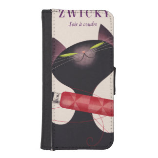 Zwicky Cat Poster by Donald Brun iPhone SE/5/5s Wallet