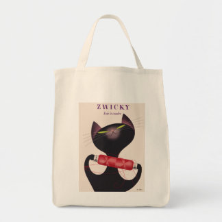 Zwicky Cat Poster by Donald Brun Tote Bag