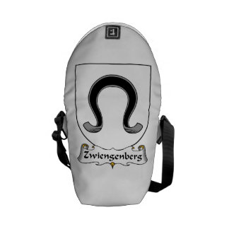 Zwiengenberg Family Crest Courier Bags