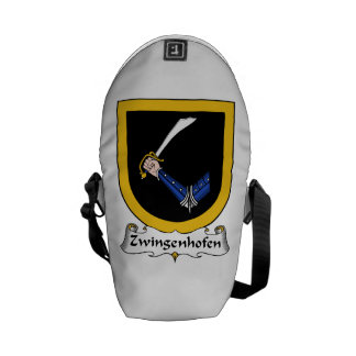 Zwingenhofen Family Crest Courier Bag