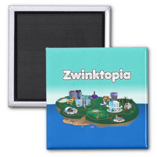 Zwinktopia Magnet