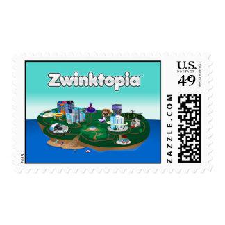 Zwinktopia Postage Stamp