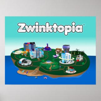 Zwinktopia Poster