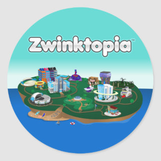Zwinktopia Stickers