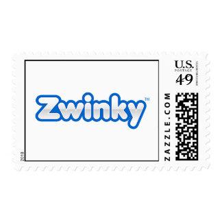Zwinky Logo Postage Stamp