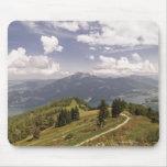 zwoelferhorn, wolfgangsee, salzburg,salzburger 2 mousepads