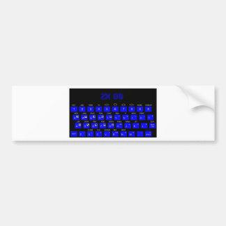 ZX80 Keyboard Bumper Sticker