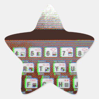 ZX81 STAR STICKER
