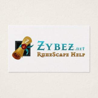 Zybez RuneFest 2011 Business Cards