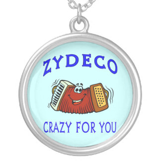 Zydeco Cajun Silver Plated Necklace