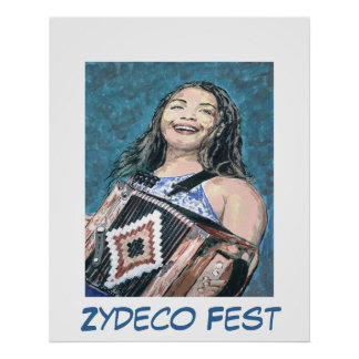 Zydeco Fest Poster