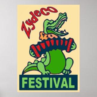 Zydeco Festival print