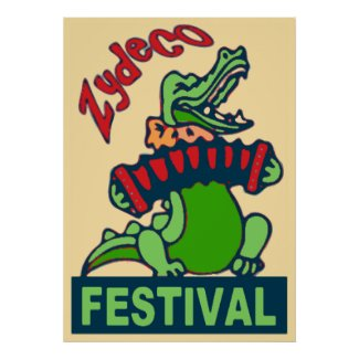 Zydeco Festival Poster