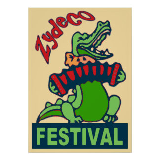 Zydeco Festival Posters