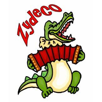 Zydeco Gator shirt