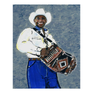 Zydeco Geno Poster