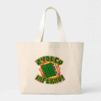Zydeco Inferno Large Tote Bag