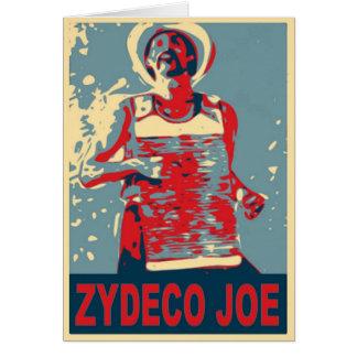 Zydeco Joe in Blue Card