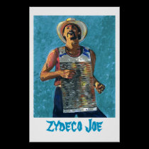 Zydeco Joe posters