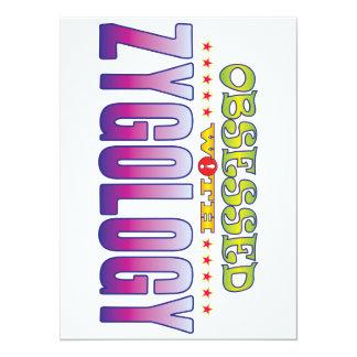 Zygology 2 obsesionado invitación 13,9 x 19,0 cm