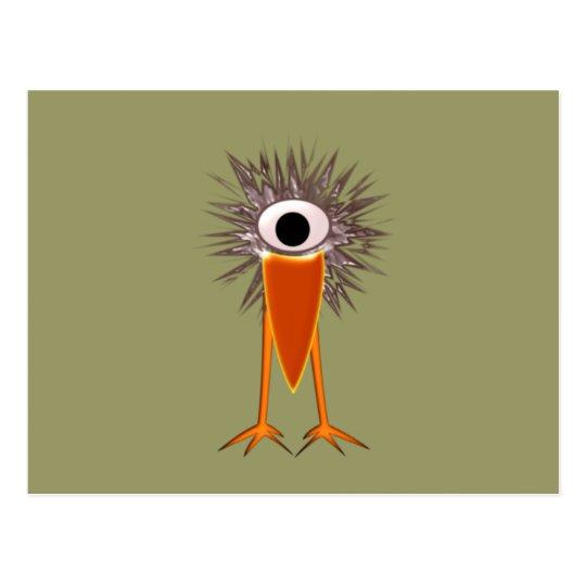 Zyklopenvogel cyclops bird postcard