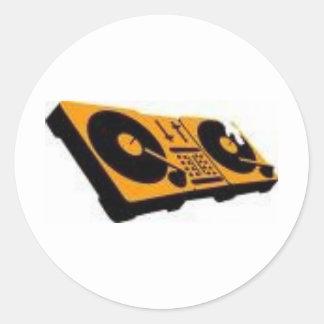 zyonidesignz classic round sticker