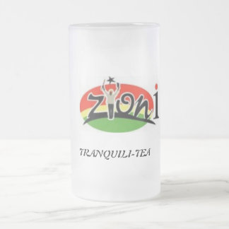 ZYONIMUSIC 16 OZ FROSTED GLASS BEER MUG