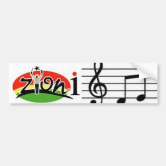 zyonimusic bumper sticker