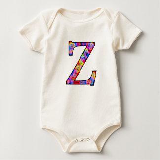 Zz Illuminated Monogram Bodysuit