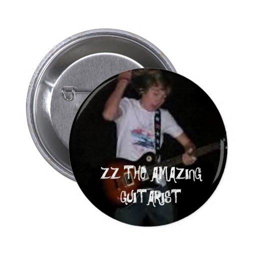 ZZ-The que sorprende Guitarist2 Pin