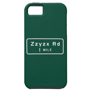 Zzyzx, Road Marker, California, US iPhone 5 Cases