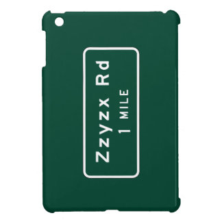 Zzyzx, Road Marker, California, US iPad Mini Cover