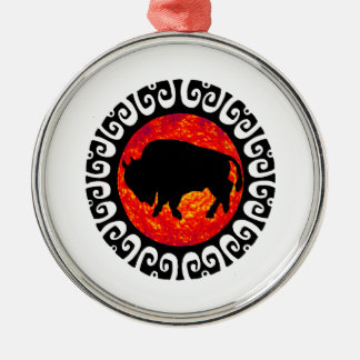ZZZ (168).png Round Metal Christmas Ornament