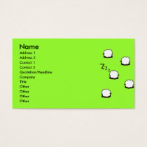 ZZZ BUSINESS CARD